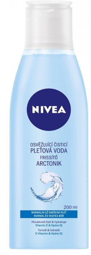 Nivea Aqua Effect ( normální až smíšená pleť ) - Osvěžující čisticí pleťová voda 200 ml