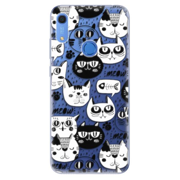 Odolné silikonové pouzdro iSaprio - Cat pattern 03 - Huawei Y6s
