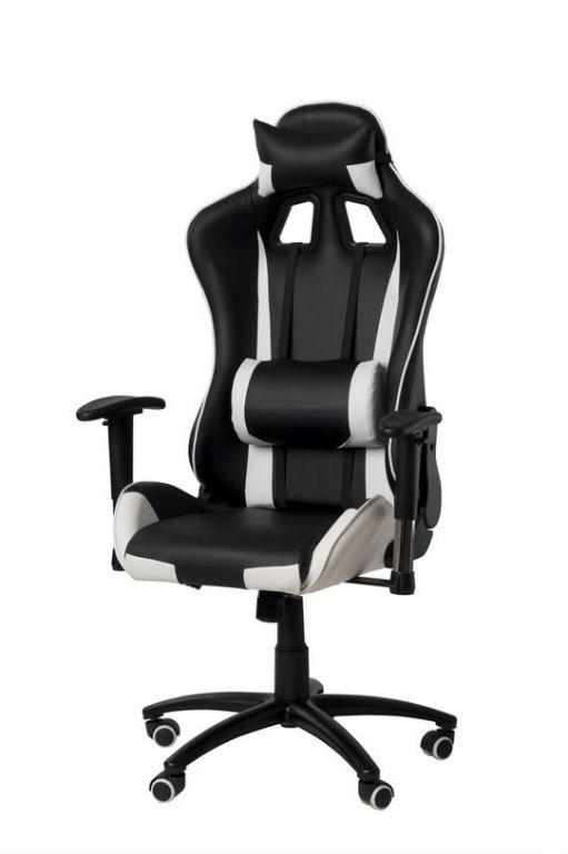 Kancelářská židle - křeslo NEBRASKA - šedá