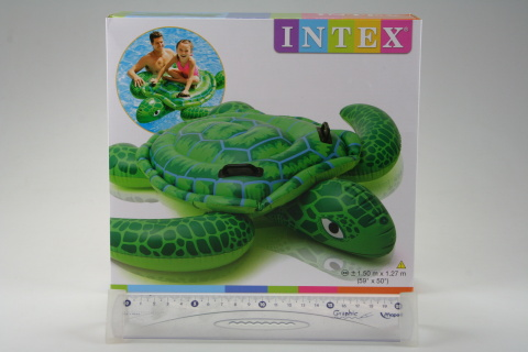 INTEX Vodní vozidlo želva 150 x 127 cm 57524