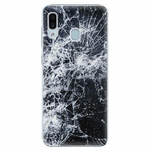 Plastový kryt iSaprio - Cracked - Samsung Galaxy A30