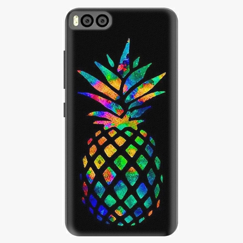 Plastový kryt iSaprio - Rainbow Pineapple - Xiaomi Mi6