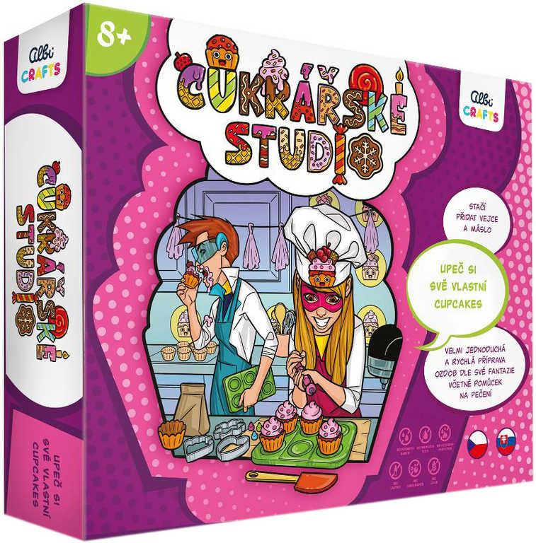 ALBI Crafts Cukrářské studio kreativní set výroba dortíků