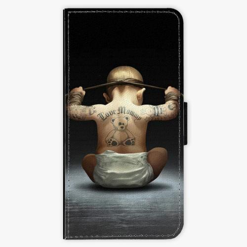 Flipové pouzdro iSaprio - Crazy Baby - Nokia 6