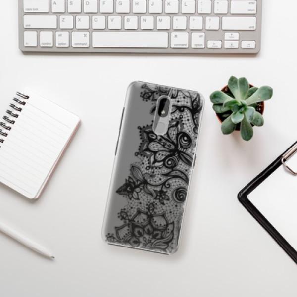 Plastové pouzdro iSaprio - Black Lace - Nokia 3.2