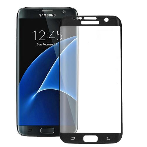 Tvrzené 3D sklo Haweel pro Samsung Galaxy S7 Edge černé