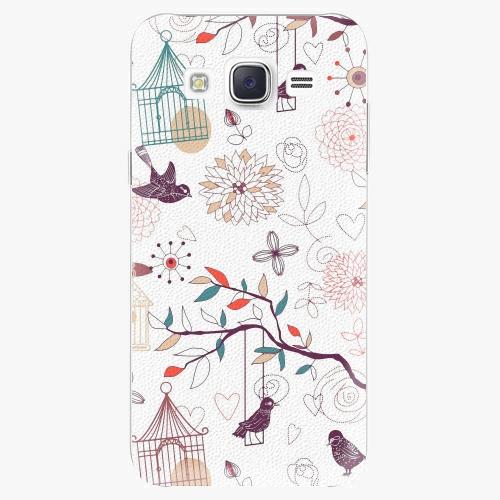 Plastový kryt iSaprio - Birds - Samsung Galaxy Core Prime