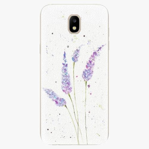 Silikonové pouzdro iSaprio - Lavender - Samsung Galaxy J5 2017