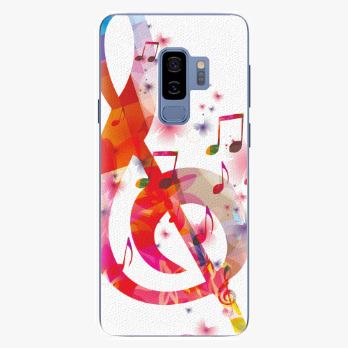 Plastový kryt iSaprio - Love Music - Samsung Galaxy S9 Plus