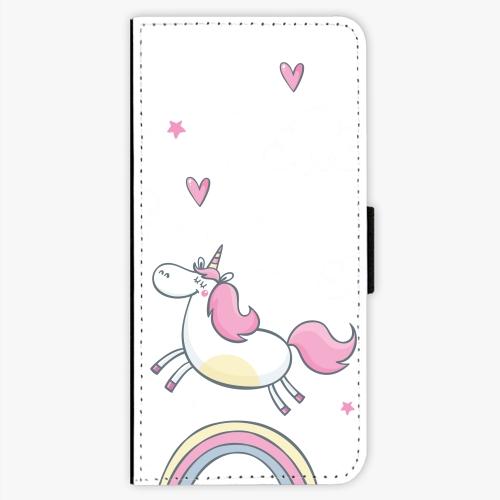 Flipové pouzdro iSaprio - Unicorn 01 - Sony Xperia XA