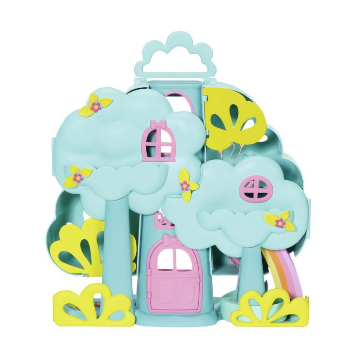 ZAPF CREATION Baby Born Surprise domeček stromový set s miminkem a doplňky