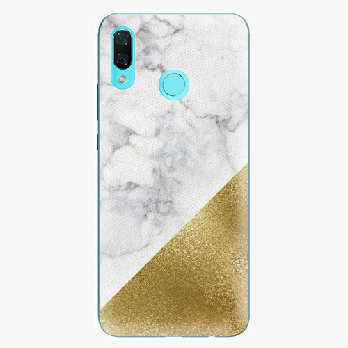 Plastový kryt iSaprio - Gold and WH Marble - Huawei Nova 3