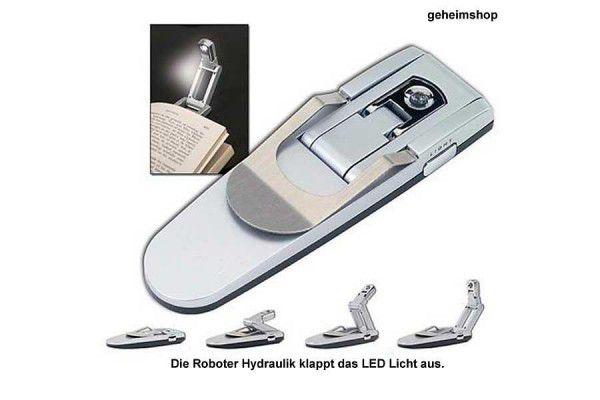 LED lampa pro noční četbu - lampička