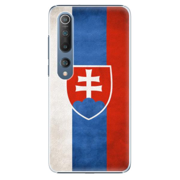 Plastové pouzdro iSaprio - Slovakia Flag - Xiaomi Mi 10 / Mi 10 Pro