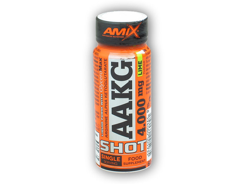 AAKG Shot 4000mg ampule 60ml-lemon