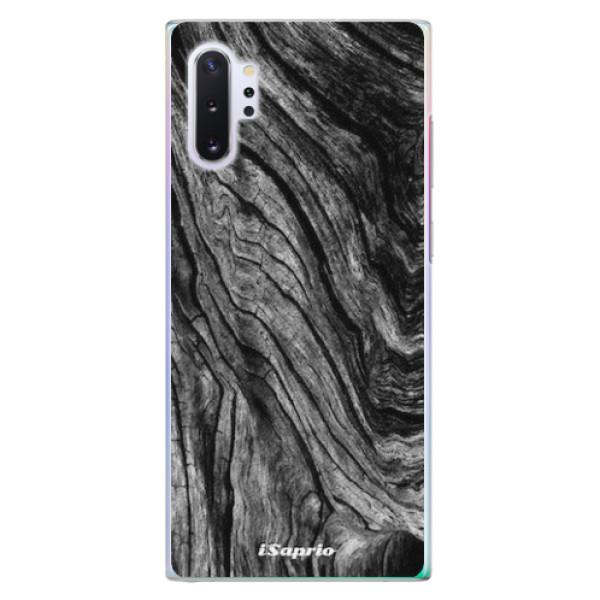 Plastové pouzdro iSaprio - Burned Wood - Samsung Galaxy Note 10+