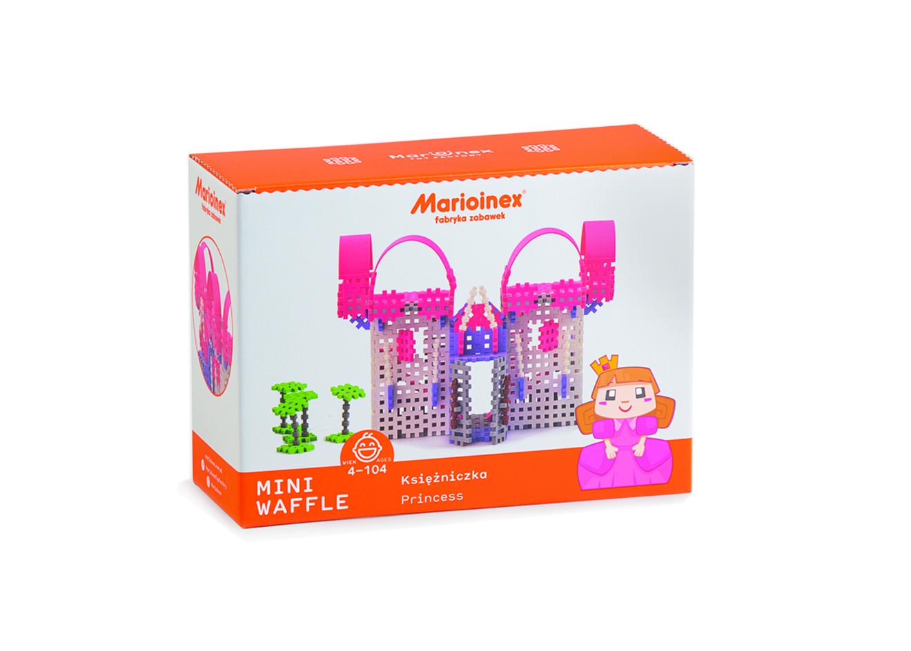 Marioinex MINI WAFLE – Princezna (velká)