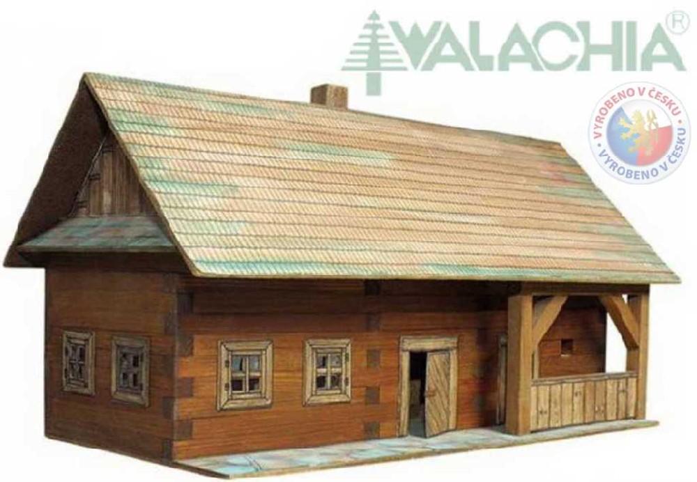 WALACHIA Usedlost 33W3 dřevěná stavebnice