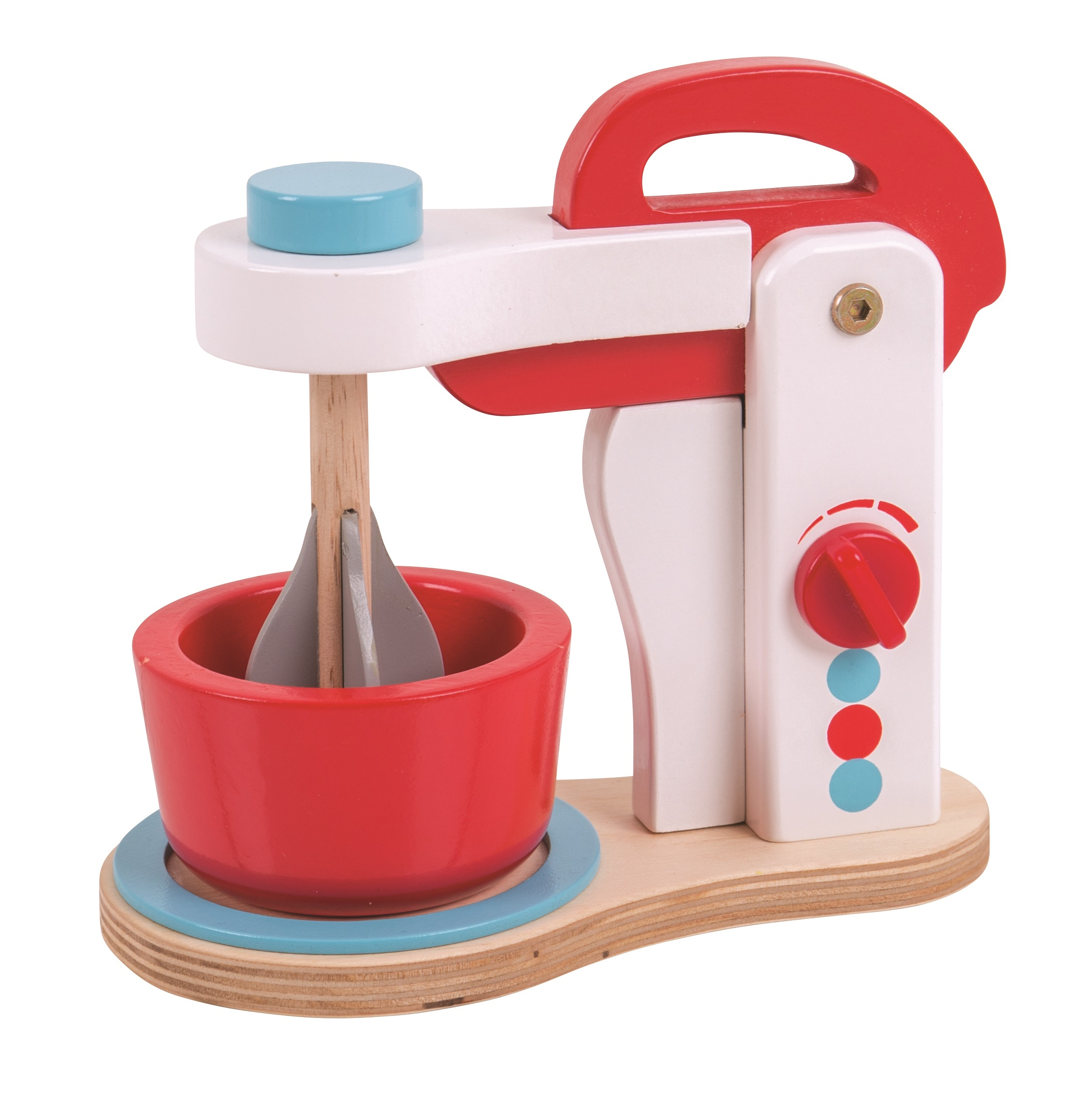 Bigjigs Toys Dřevěný kuchyňský robot