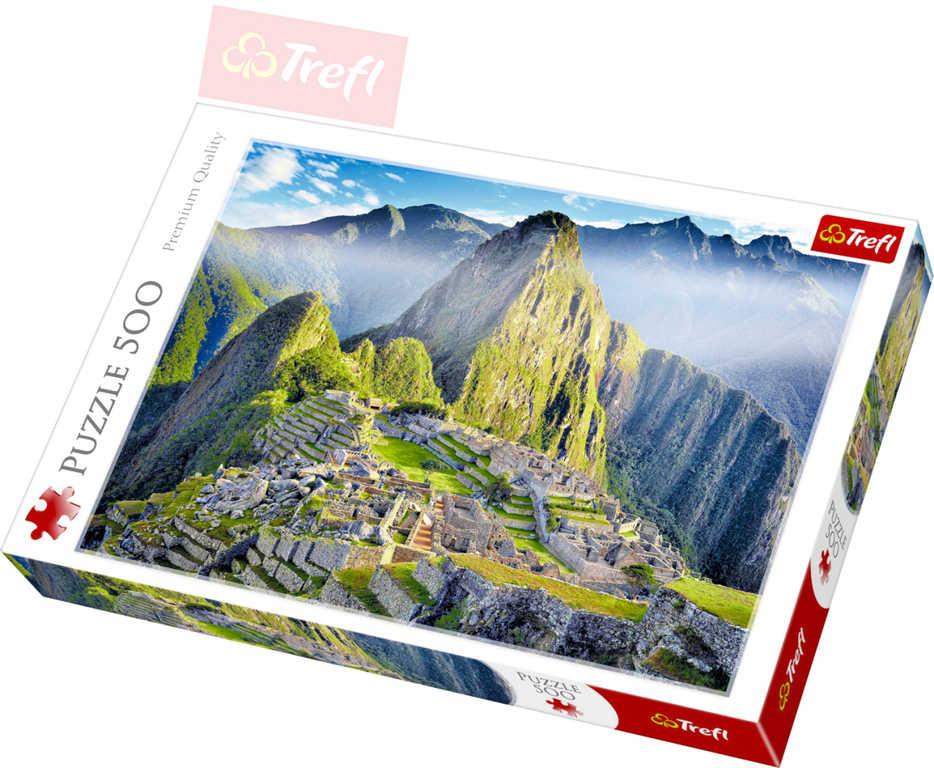 TREFL PUZZLE Foto Machu Picchu 500 dílků 48x34cm 137260