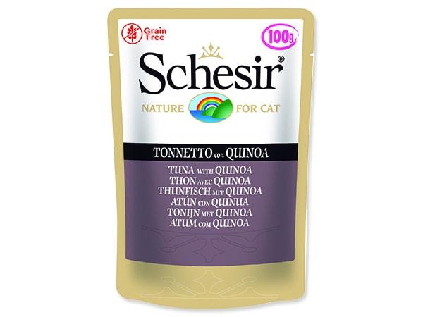 Kapsička SCHESIR Cat tuňák + quinoa 100g