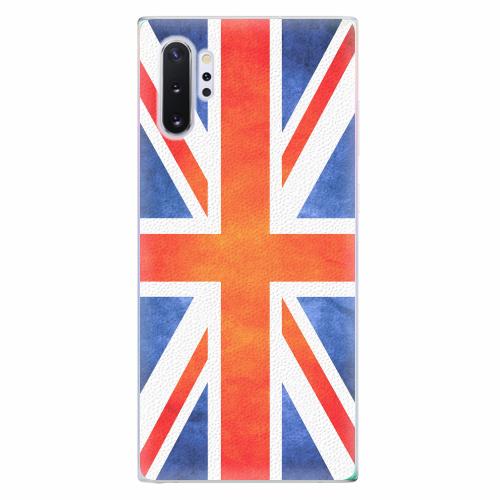 Silikonové pouzdro iSaprio - UK Flag - Samsung Galaxy Note 10+