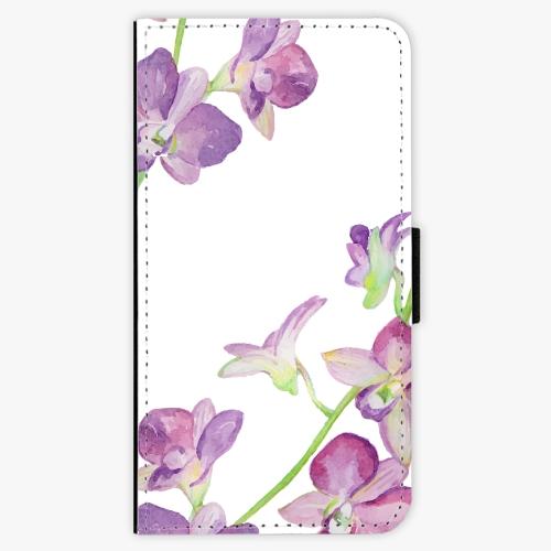 Flipové pouzdro iSaprio - Purple Orchid - Huawei P10 Plus