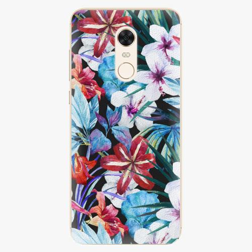 Plastový kryt iSaprio - Tropical Flowers 05 - Xiaomi Redmi 5 Plus