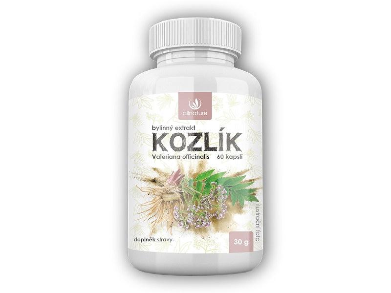 Kozlík bylinný extrakt 60 kapslí