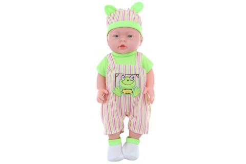 Miminko chlapeček zelený v sáčku