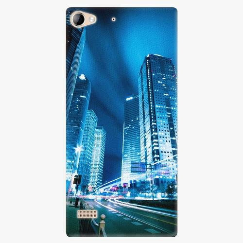 Plastový kryt iSaprio - Night City Blue - Lenovo Vibe X2