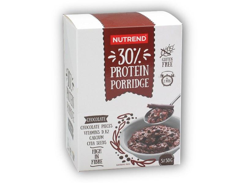 30% Protein Porridge 5x50g - sáček-cokolada