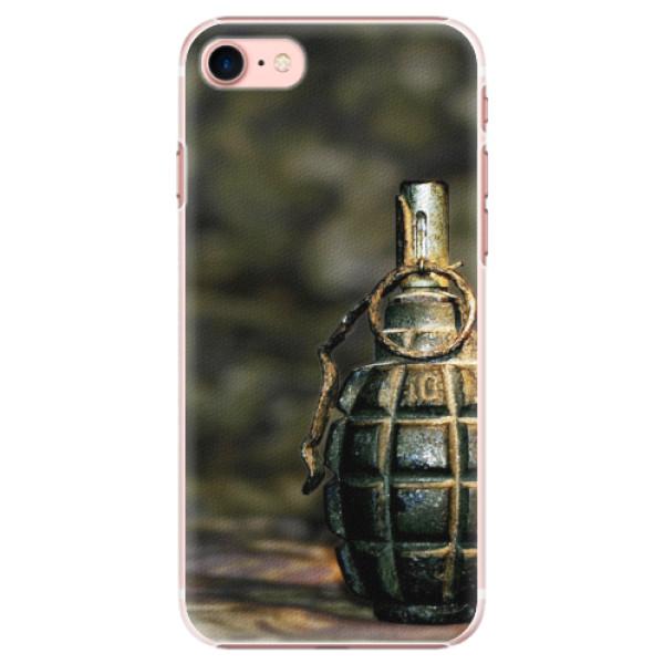Plastové pouzdro iSaprio - Grenade - iPhone 7