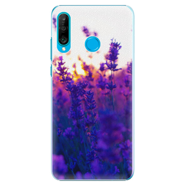 Plastové pouzdro iSaprio - Lavender Field - Huawei P30 Lite