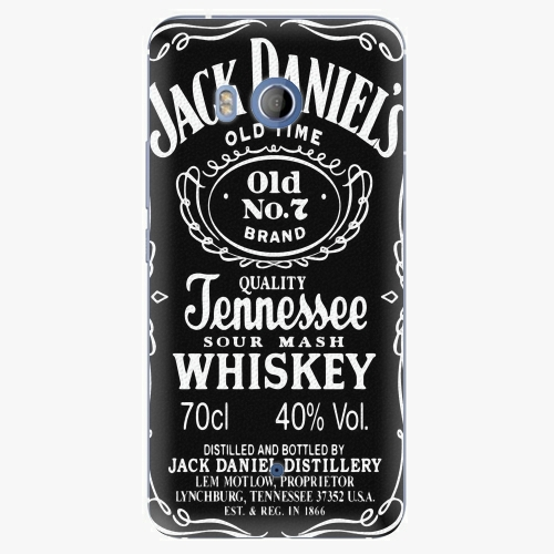 Plastový kryt iSaprio - Jack Daniels - HTC U11