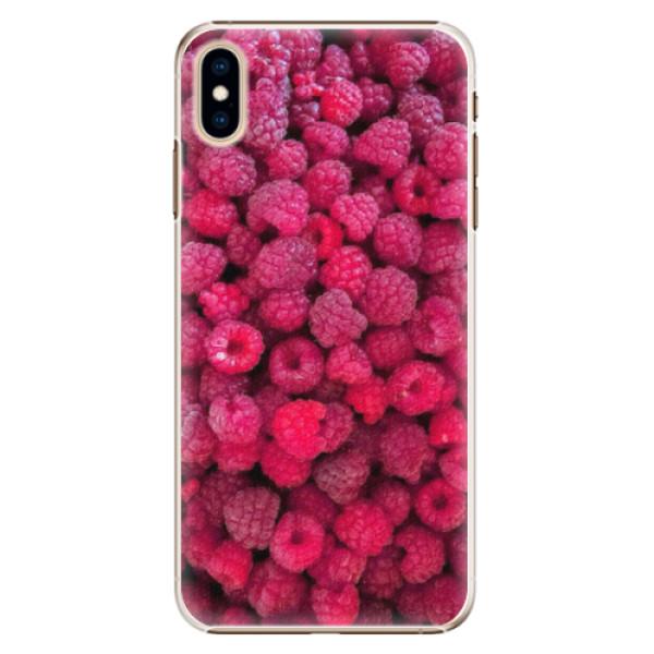 Plastové pouzdro iSaprio - Raspberry - iPhone XS Max
