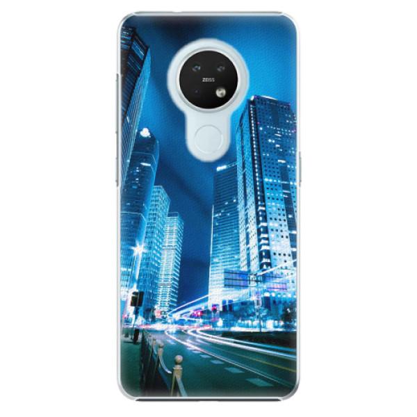 Plastové pouzdro iSaprio - Night City Blue - Nokia 7.2
