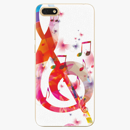 Silikonové pouzdro iSaprio - Love Music - Huawei Honor 7S