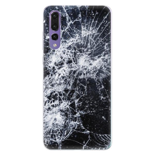 Silikonové pouzdro iSaprio - Cracked - Huawei P20 Pro