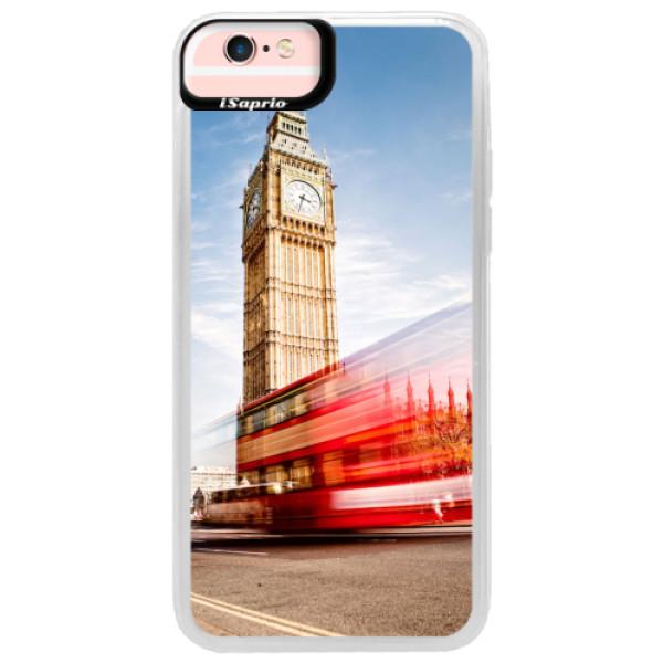 Neonové pouzdro Pink iSaprio - London 01 - iPhone 6/6S