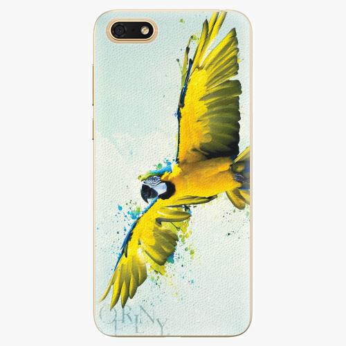 Silikonové pouzdro iSaprio - Born to Fly - Huawei Honor 7S