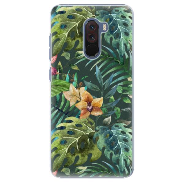 Plastové pouzdro iSaprio - Tropical Green 02 - Xiaomi Pocophone F1