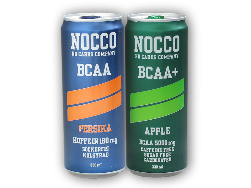 NOCCO BCAA 330ml + Caffeine 180mg + 1x