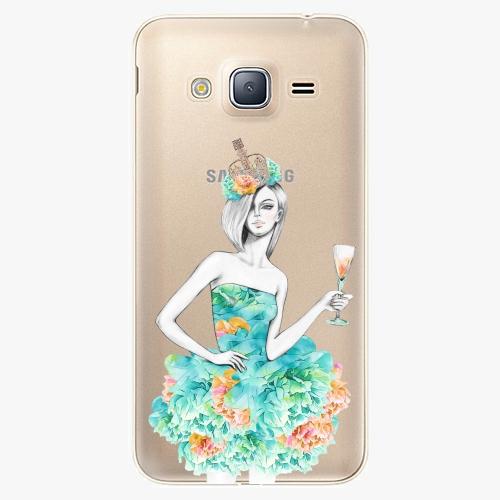 Plastový kryt iSaprio - Queen of Parties - Samsung Galaxy J3