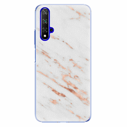 Plastový kryt iSaprio - Rose Gold Marble - Huawei Honor 20