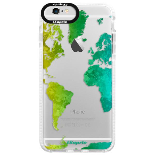 Silikonové pouzdro Bumper iSaprio - Cold Map - iPhone 6/6S