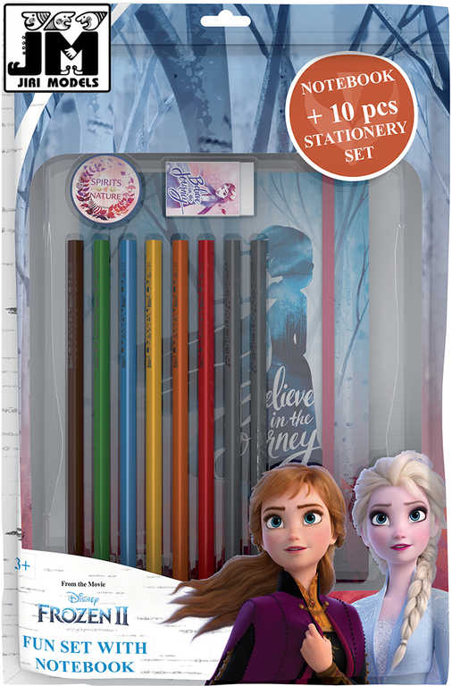 JIRI MODELS Zábavný balíček s blokem Frozen 2 (Ledové Království)