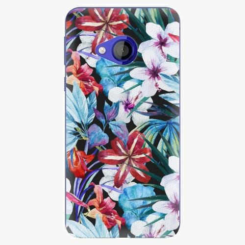 Plastový kryt iSaprio - Tropical Flowers 05 - HTC U Play