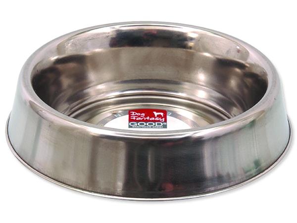 Miska DOG FANTASY nerezová s gumovým spodkem 16 cm 470ml