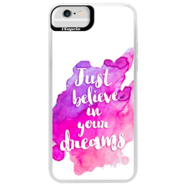 Neonové pouzdro Blue iSaprio - Believe - iPhone 6 Plus/6S Plus